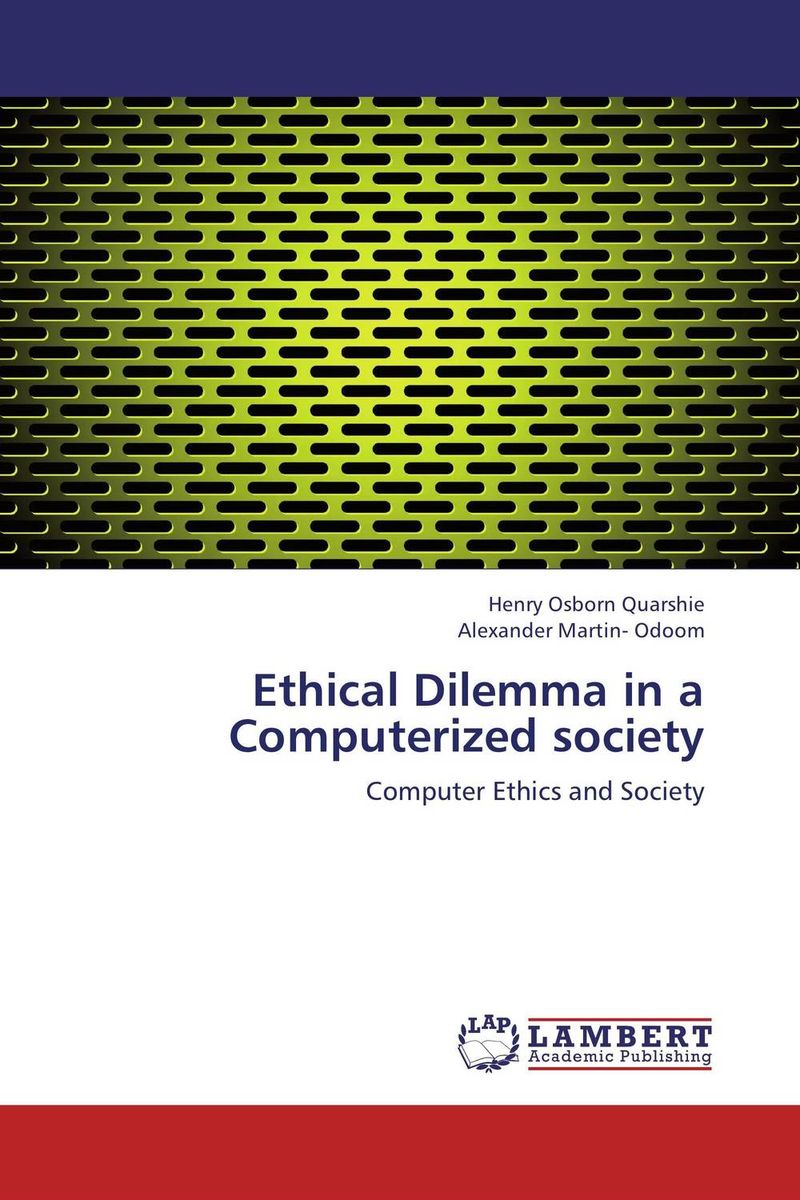 Ethical Dilemma in a Computerized society voluntary associations in tsarist russia – science patriotism and civil society