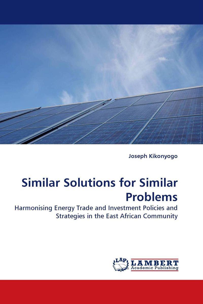 Similar Solutions for Similar Problems alison janet koper the development of an effective wind energy regime in nova scotia