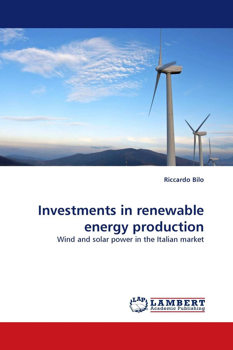 Investments in renewable energy production theodore gilliland fisher investments on utilities