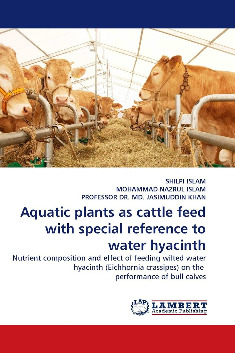 Aquatic plants as cattle feed with special reference to water hyacinth adding value to the citrus pulp by enzyme biotechnology production