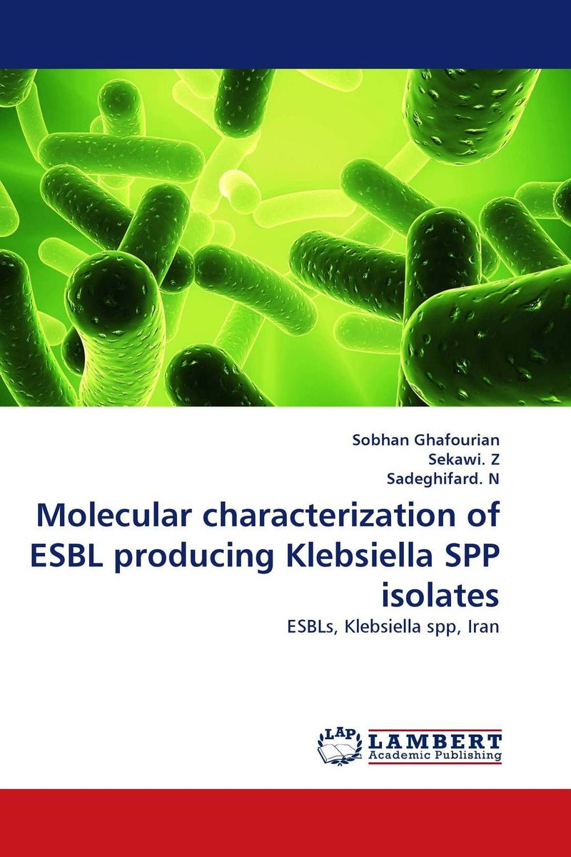 Molecular characterization of ESBL producing Klebsiella SPP isolates jyoti yadav arvind kumar and lalit kumar molecular characterization of lactamase e coli and klebsiella spp