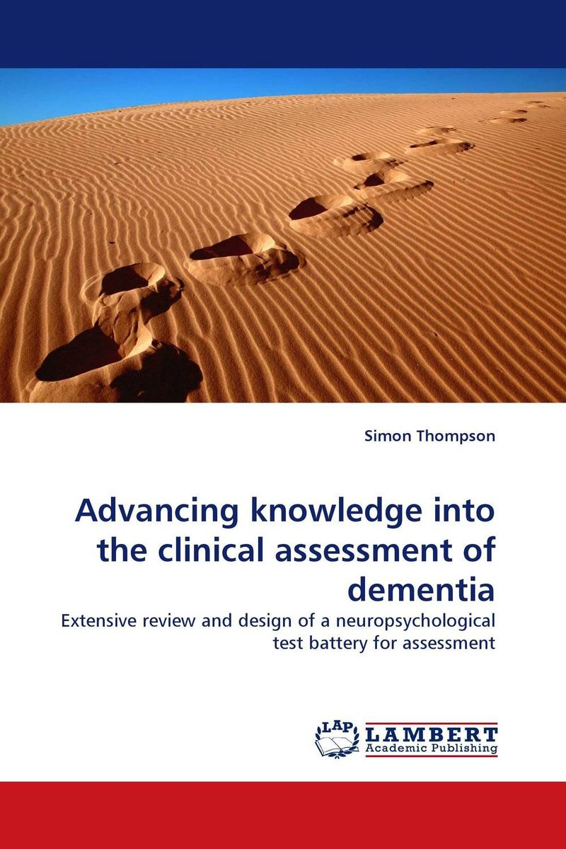 Advancing knowledge into the clinical assessment of dementia betty mcdonald reflective assessment and service learning