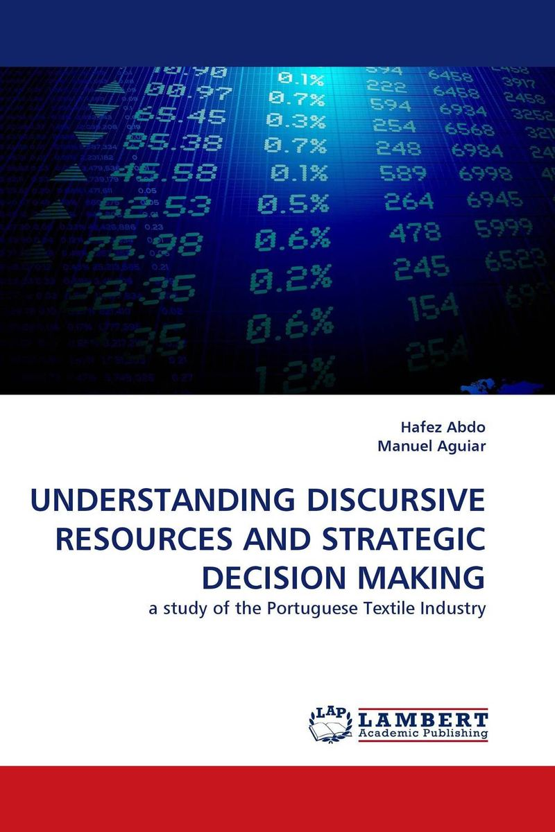 UNDERSTANDING DISCURSIVE RESOURCES AND STRATEGIC DECISION MAKING the relationship between top managers and project managers