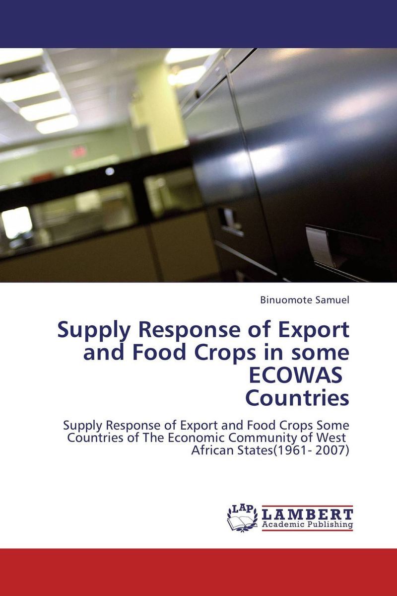 Supply Response of Export and Food Crops in some ECOWAS Countries studies on some snails associated with different crops