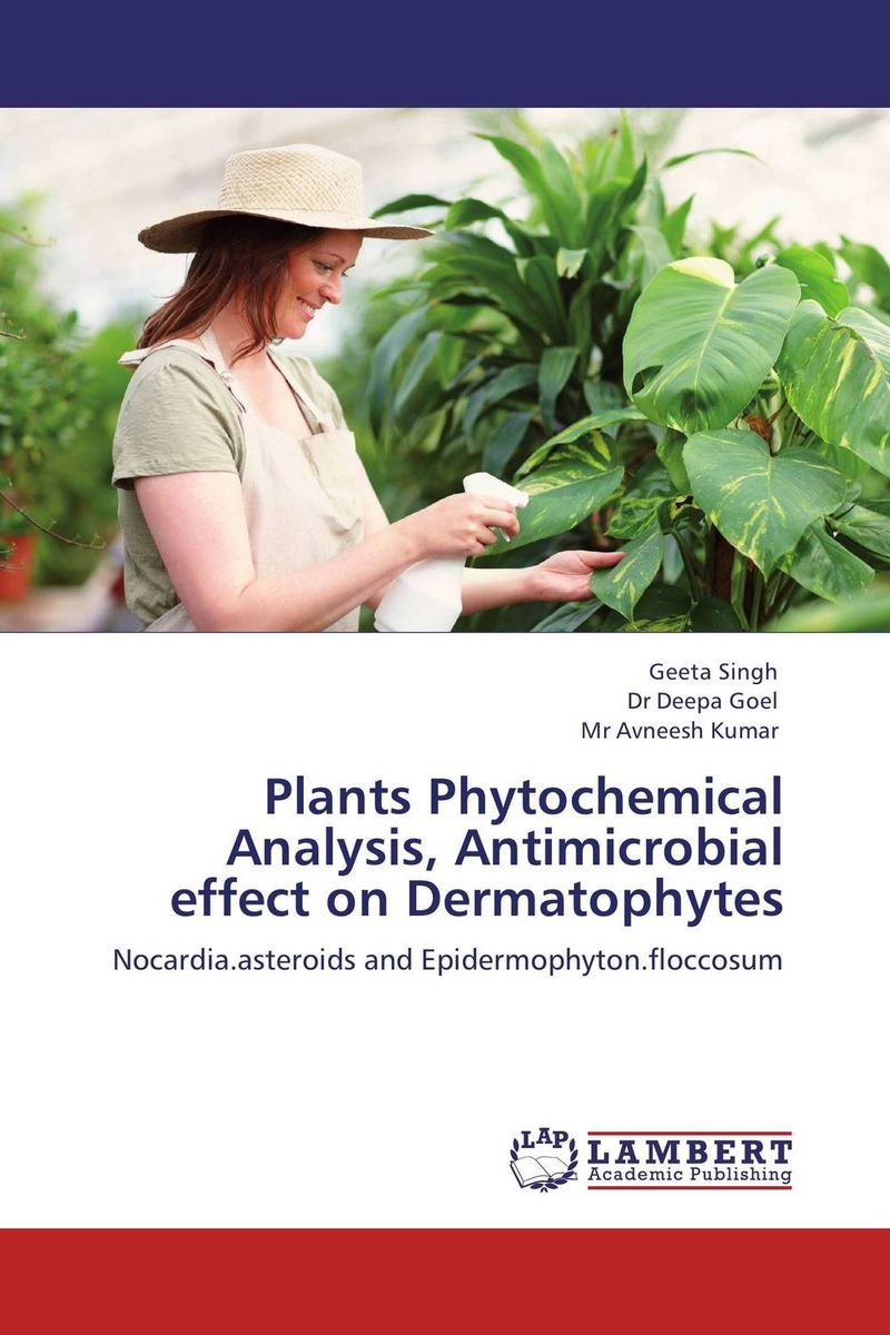 Plants Phytochemical Analysis, Antimicrobial effect on Dermatophytes analysis of bacterial colonization on gypsum casts