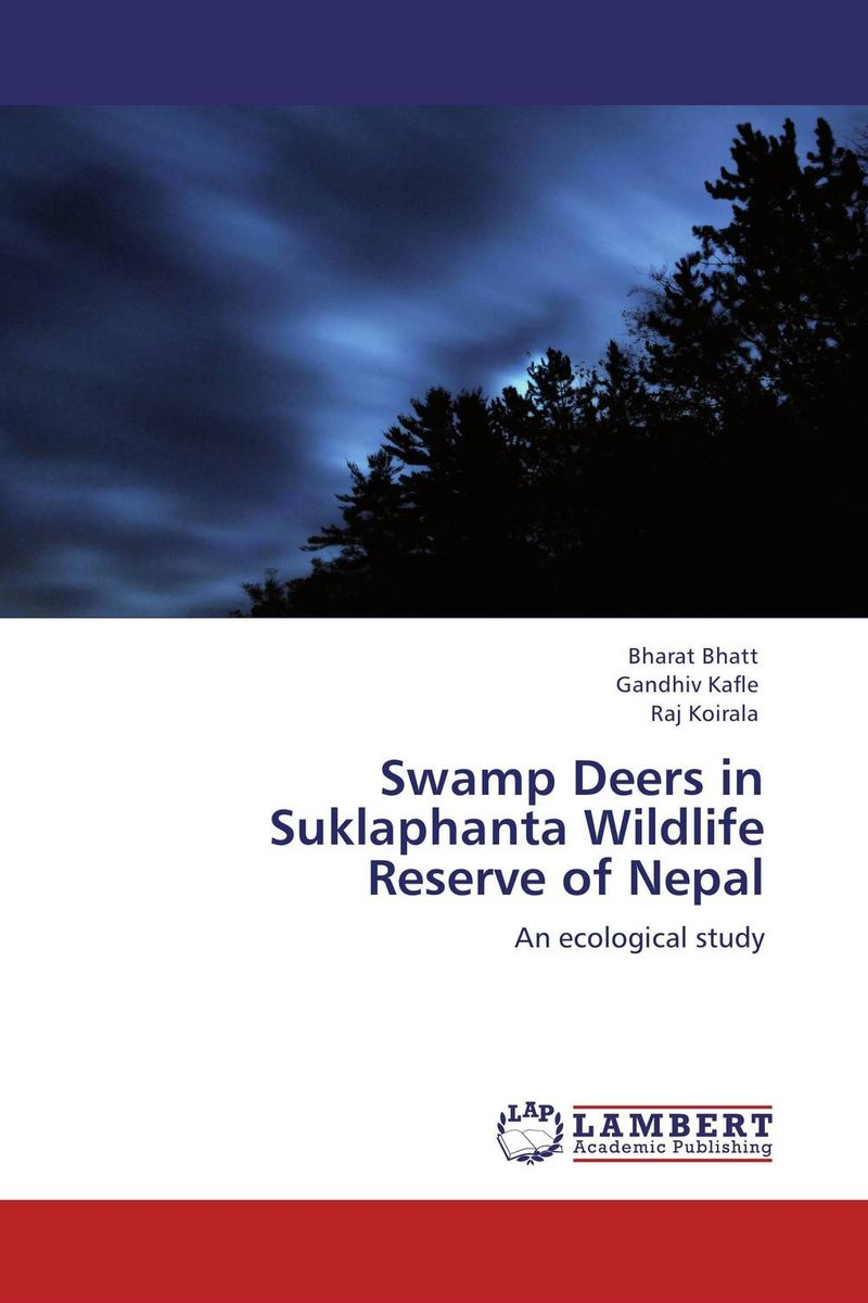Swamp Deers in Suklaphanta Wildlife Reserve of Nepal