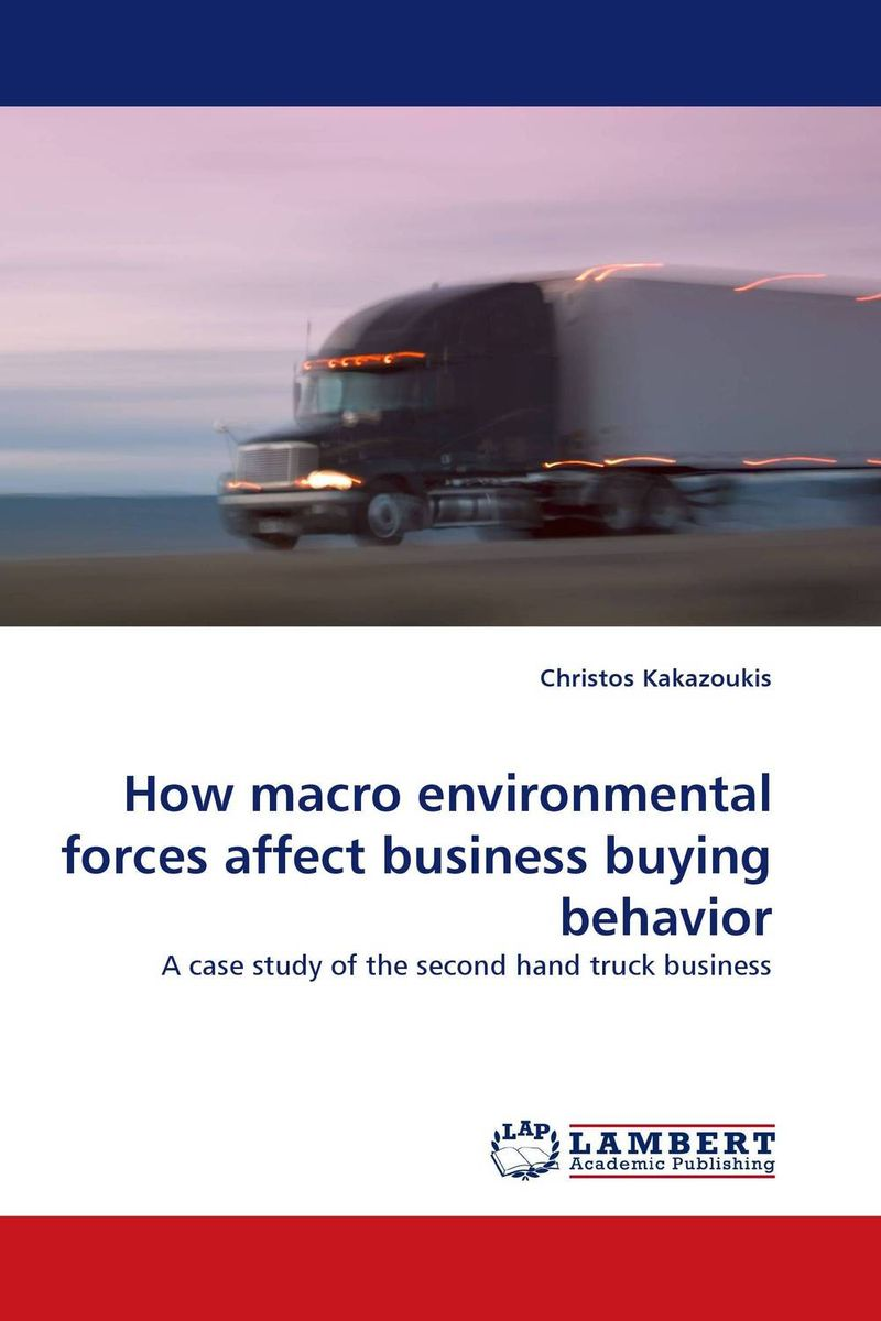 How macro environmental forces affect business buying behavior