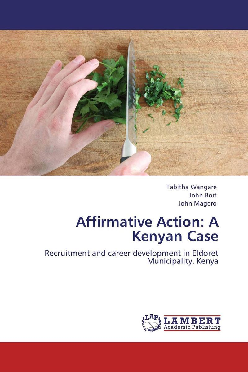 Affirmative Action: A Kenyan Case ict in disaster management case study of kenya red cross society