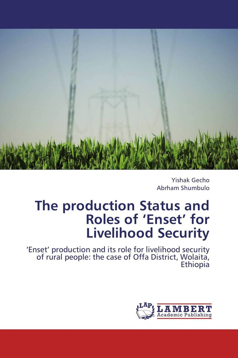 The production Status and Roles of 'Enset' for Livelihood Security socio spiritual roles of lay women
