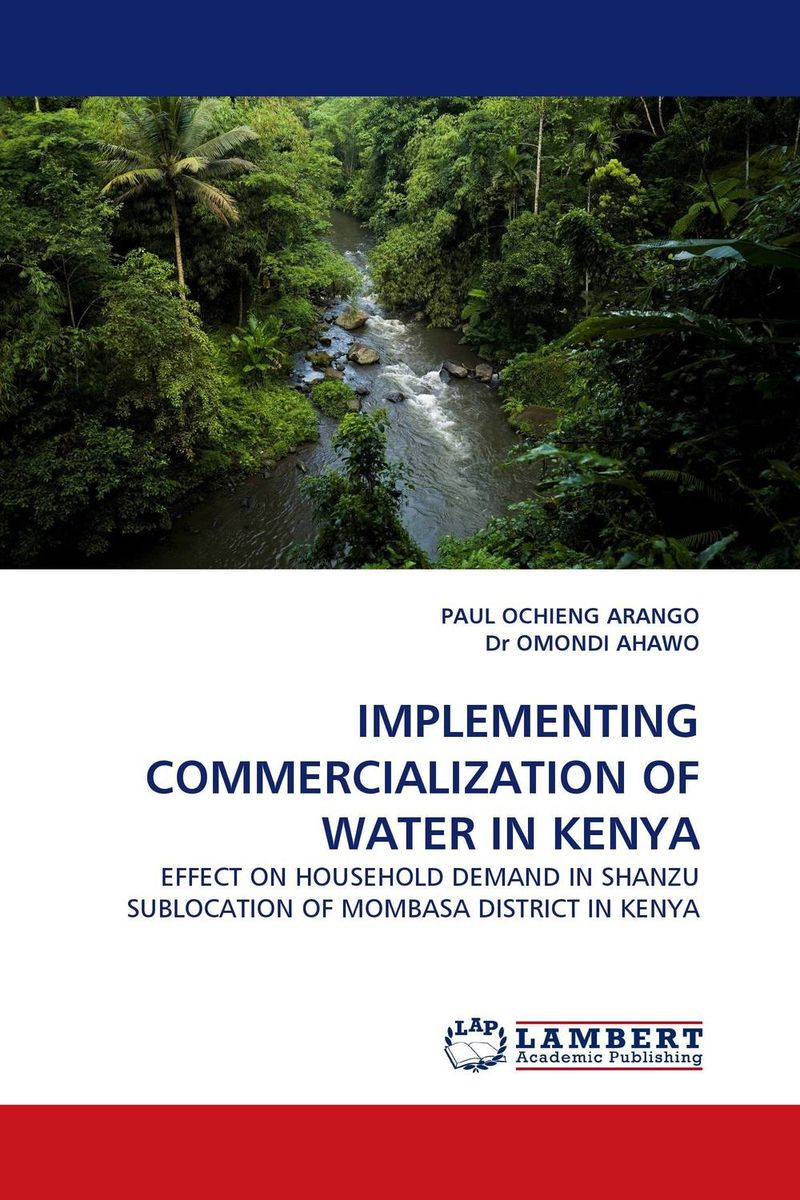 IMPLEMENTING COMMERCIALIZATION OF WATER IN KENYA bride of the water god v 3