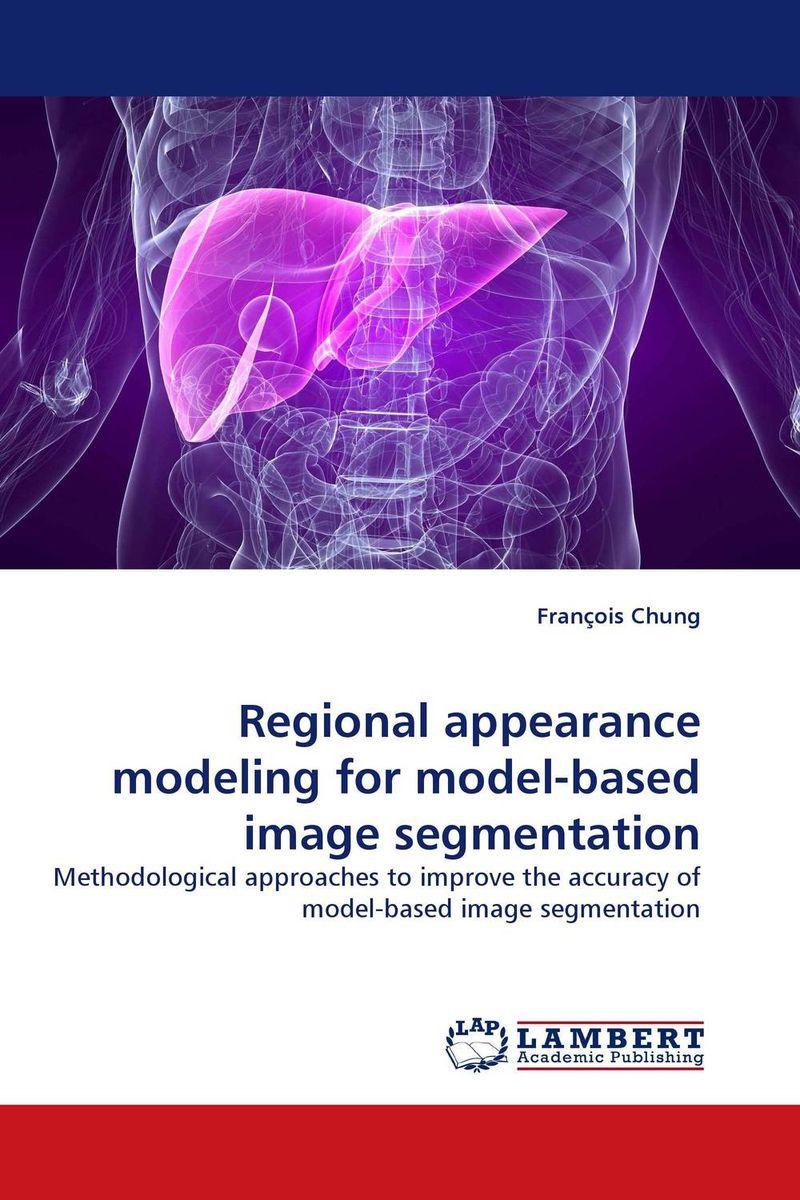 Regional appearance modeling for model-based image segmentation clustering information entities based on statistical methods