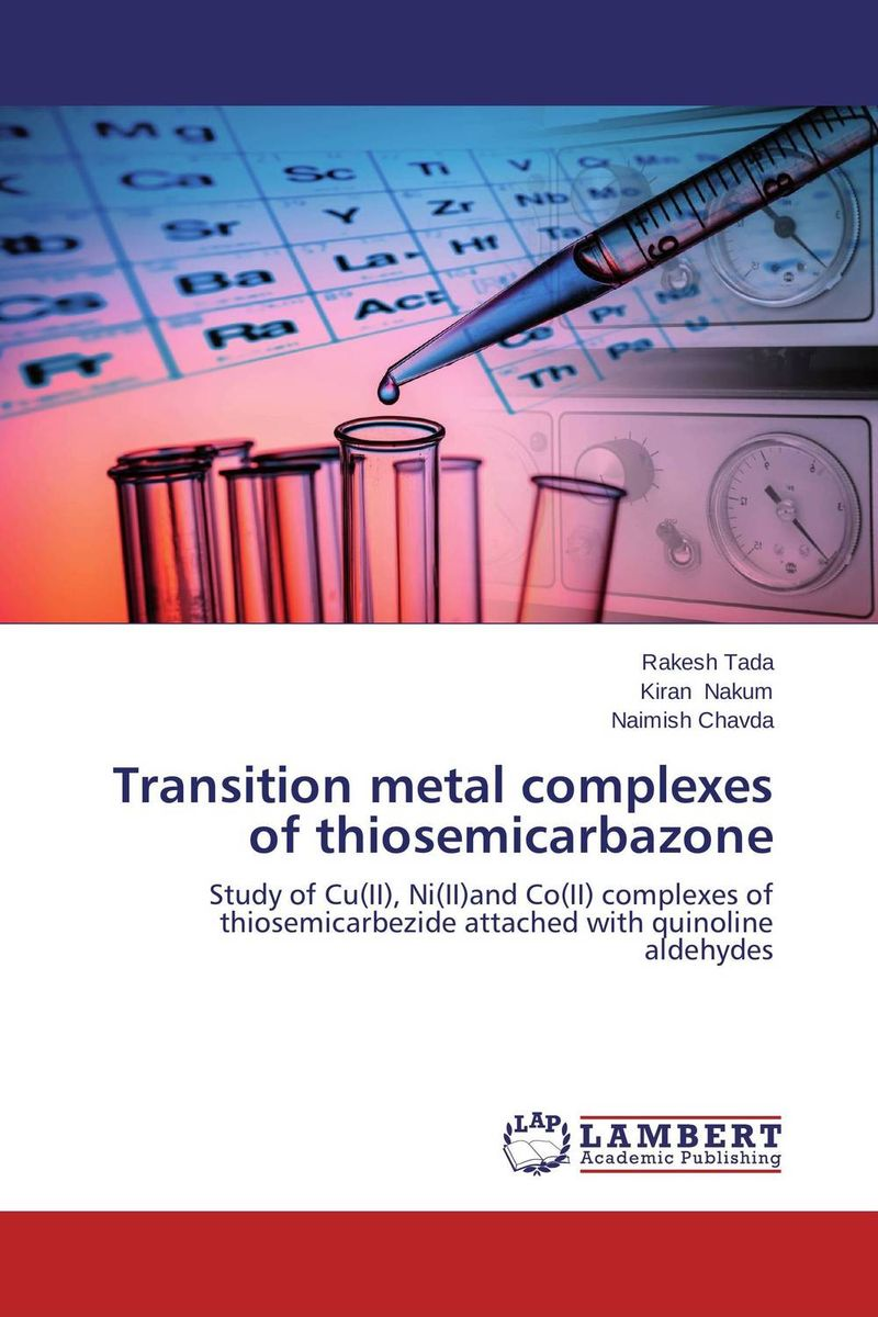 Transition metal complexes of thiosemicarbazone omar al obaidi transition metal complexes