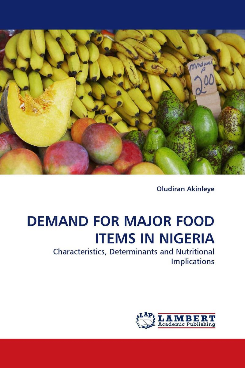 DEMAND FOR MAJOR FOOD ITEMS IN NIGERIA link for tractor parts or other items not found in the store covers the items as agreed