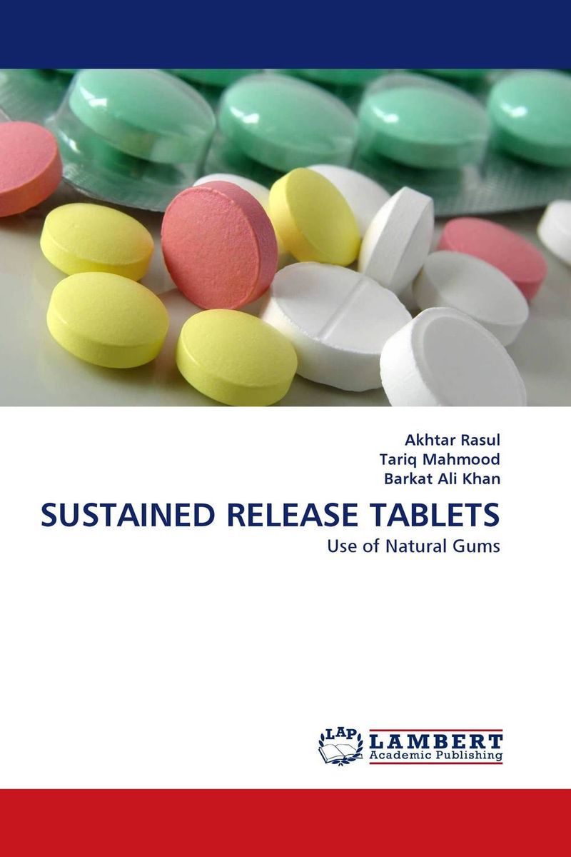 SUSTAINED RELEASE TABLETS gum tragacanth и carboxyмethyl cellulose где