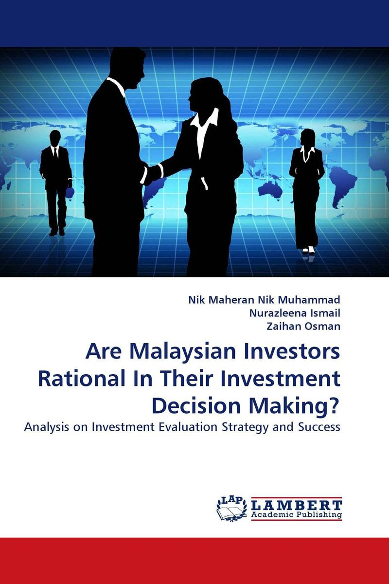 Are Malaysian Investors Rational In Their Investment Decision Making? прямошлифовальная машина makita gd 0600