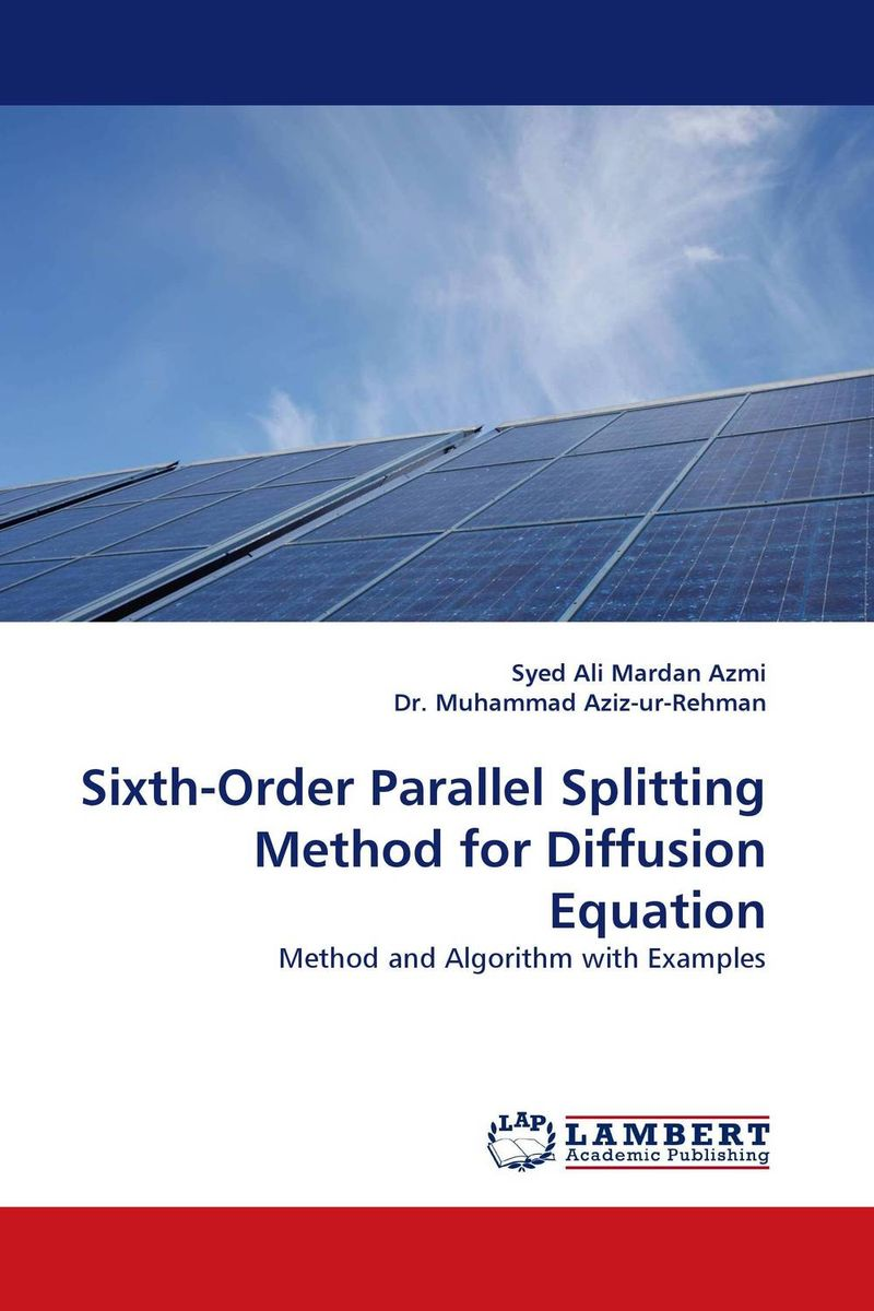 Sixth-Order Parallel Splitting Method for Diffusion Equation higher order s to z mapping functions for digital filters