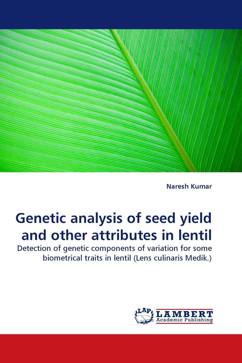 Genetic analysis of seed yield and other attributes in lentil laxmikant b dama thalassemia pedigree analysis