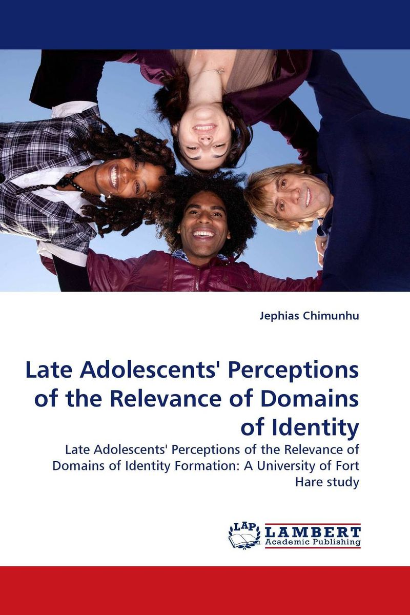 Late Adolescents'' Perceptions of the Relevance of Domains of Identity the identity of the i of the confessions of jeremiah