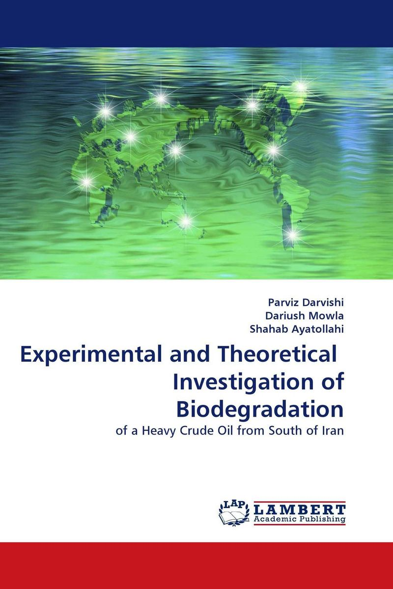 Experimental and Theoretical Investigation of Biodegradation parker шариковая ручка parker s0690650