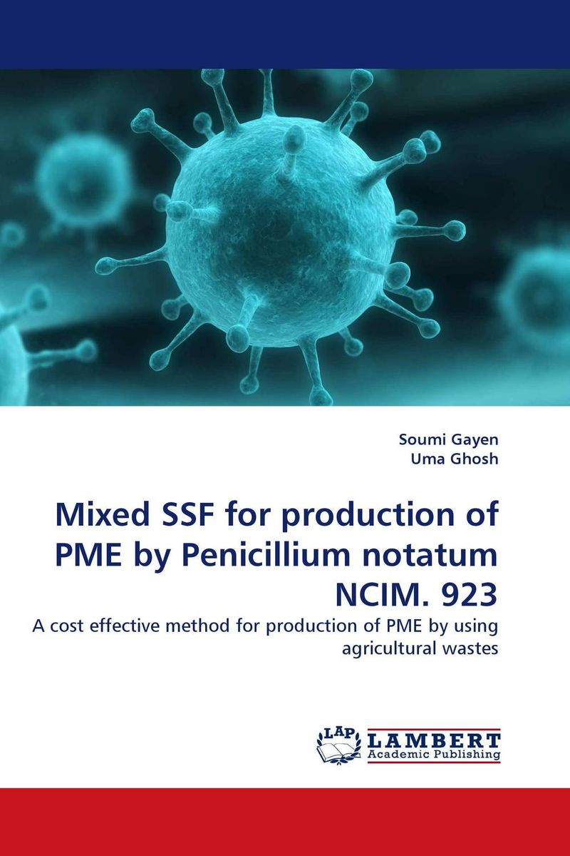 Mixed SSF for production of PME by Penicillium notatum NCIM. 923 lipid production by oleaginous yeasts