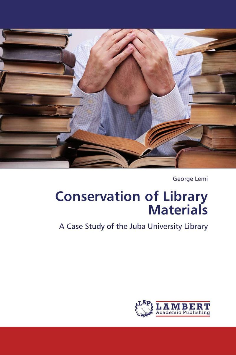 Conservation of Library Materials riggs r library of souls