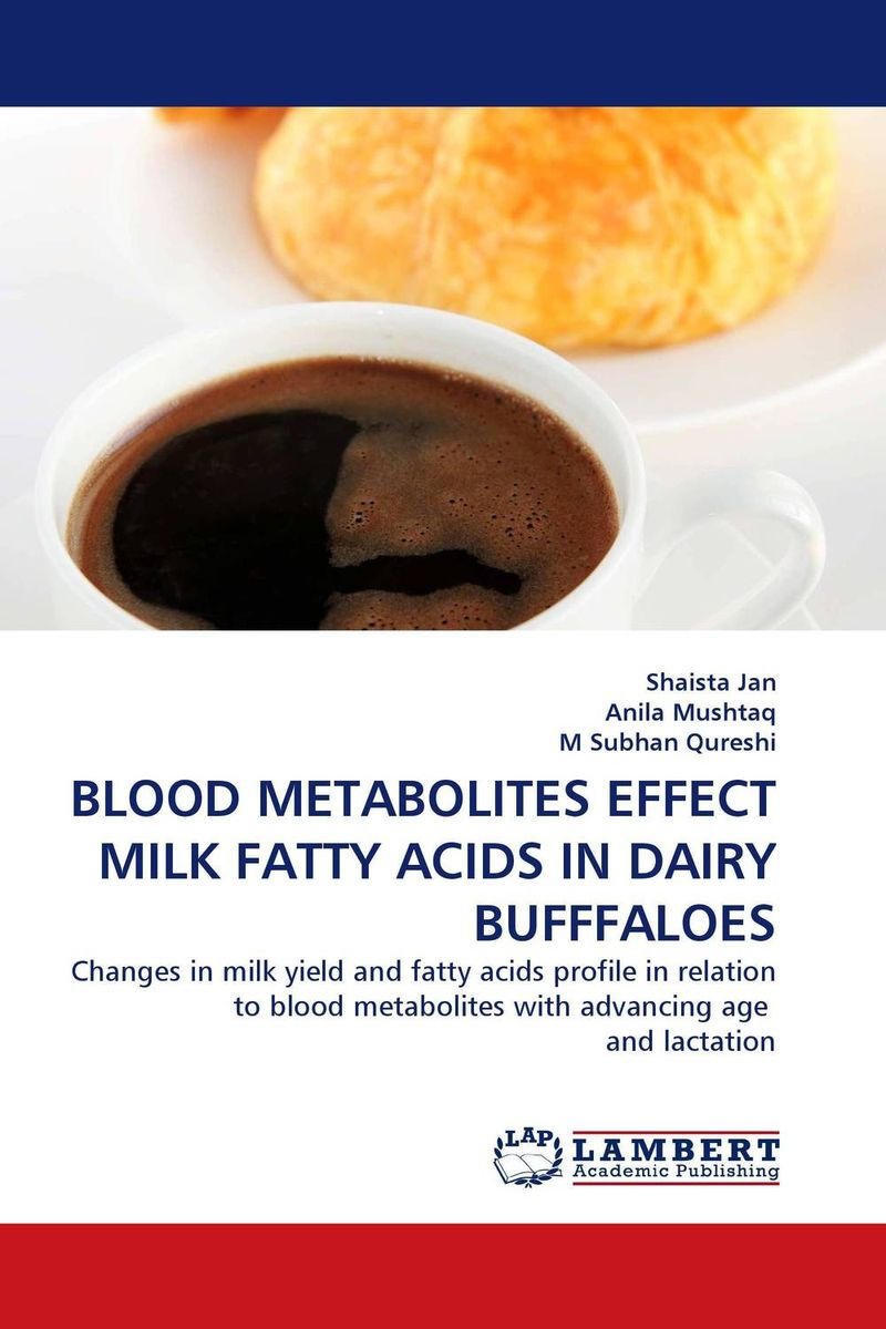 BLOOD METABOLITES EFFECT MILK FATTY ACIDS IN DAIRY BUFFFALOES heavy metals in drinking water of dairy buffaloes at peshawar
