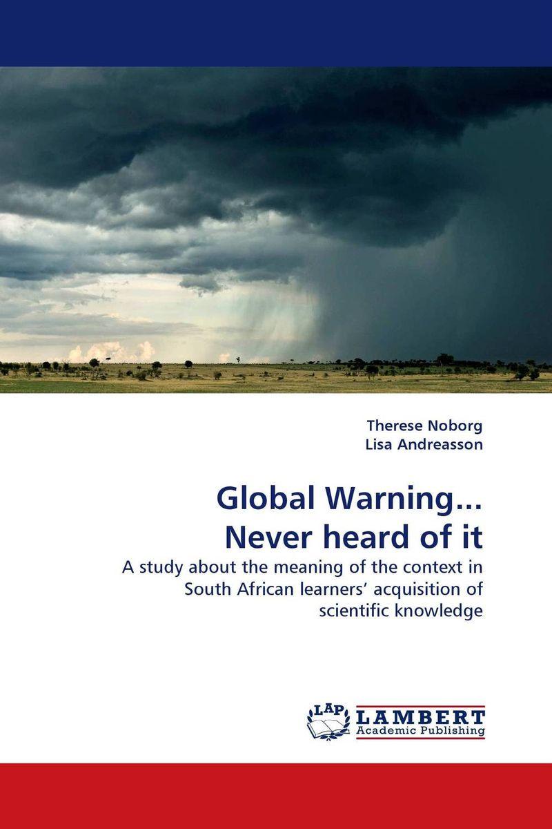 Global Warning... Never heard of it ellen the scientific examination of documents – methods