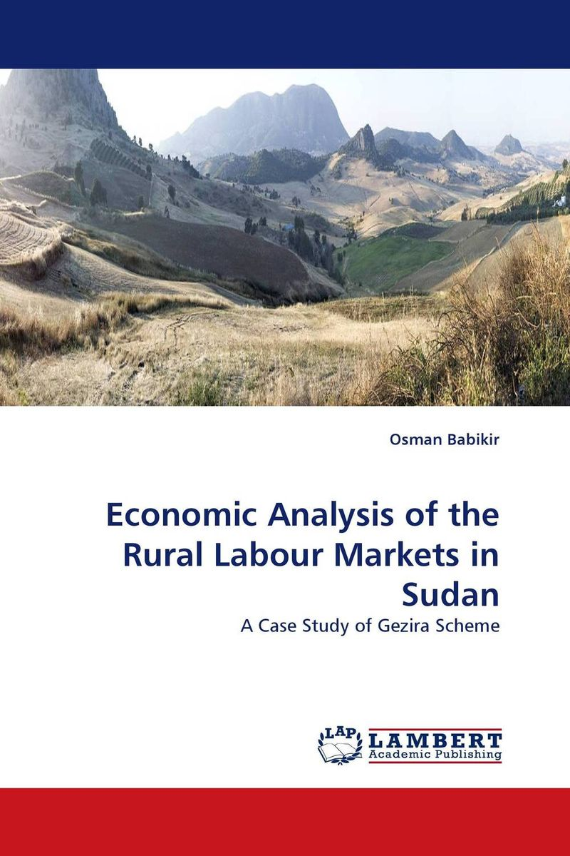 Economic Analysis of the Rural Labour Markets in Sudan an economic analysis of international student migration
