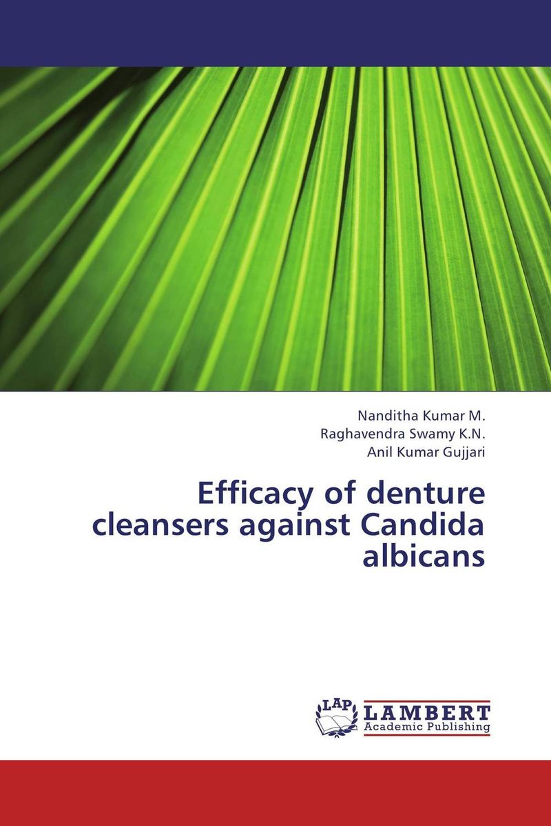 Efficacy of denture cleansers against Candida albicans the efficacy of chemotherapetic agents against paramphistomum in sheep