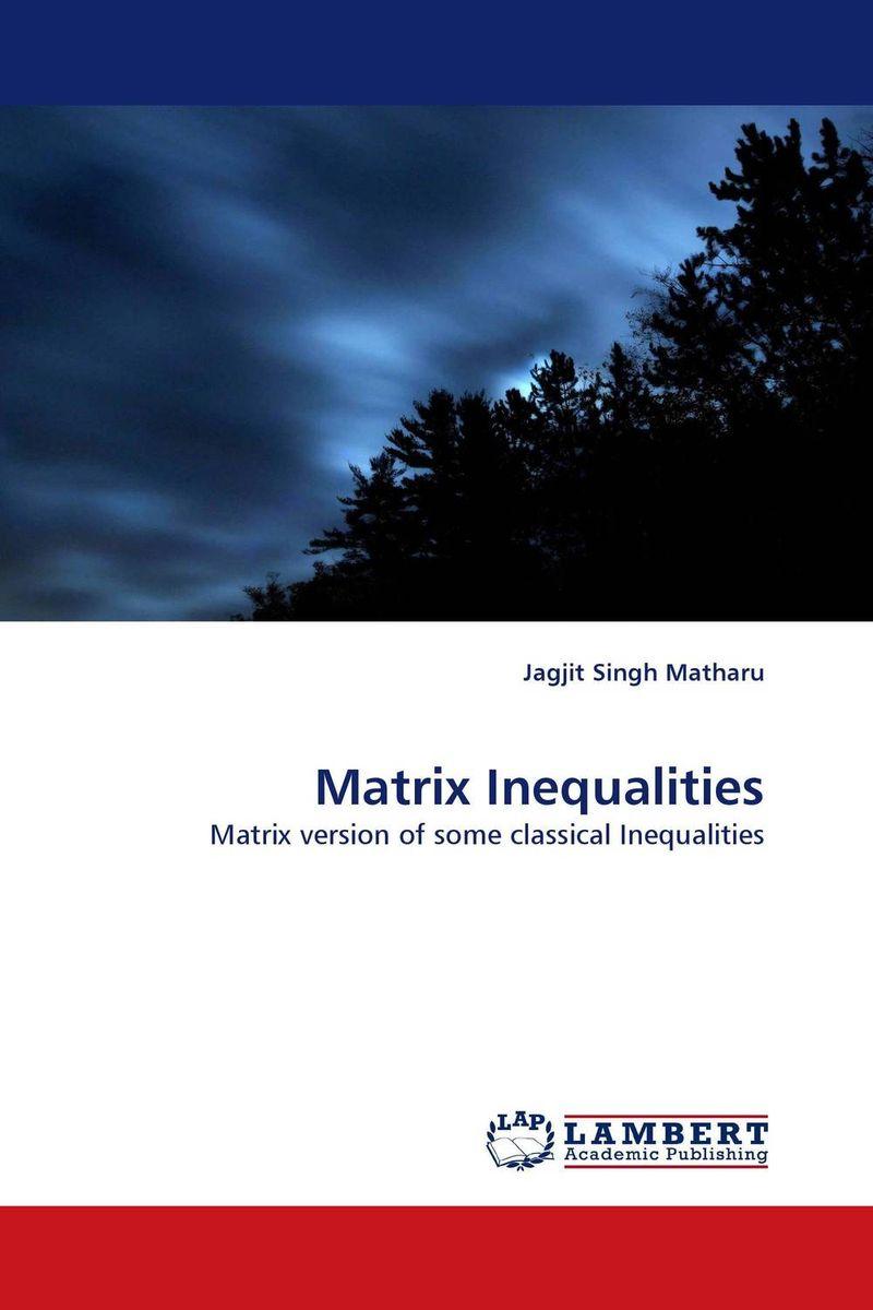 цена на Matrix Inequalities
