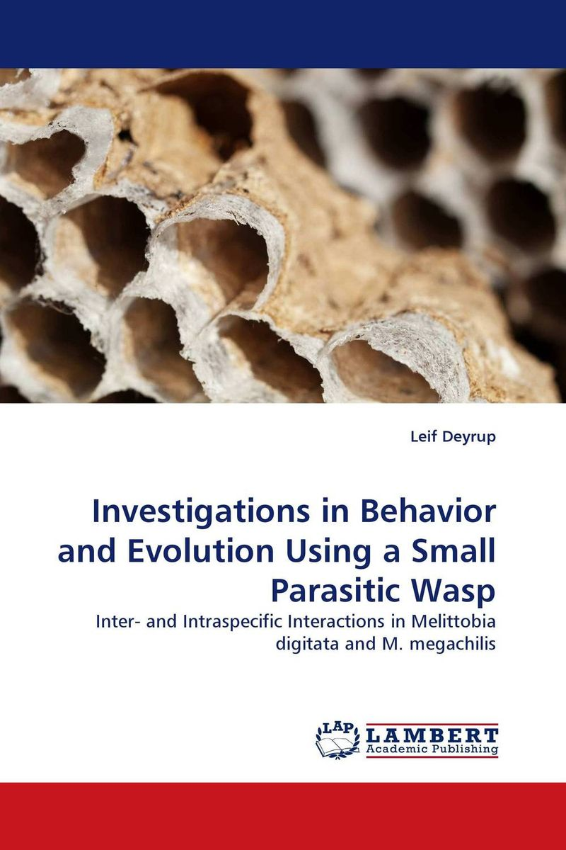Investigations in Behavior and Evolution Using a Small Parasitic Wasp dr michael patrick amos a model of central bank and treasury behavior lectures