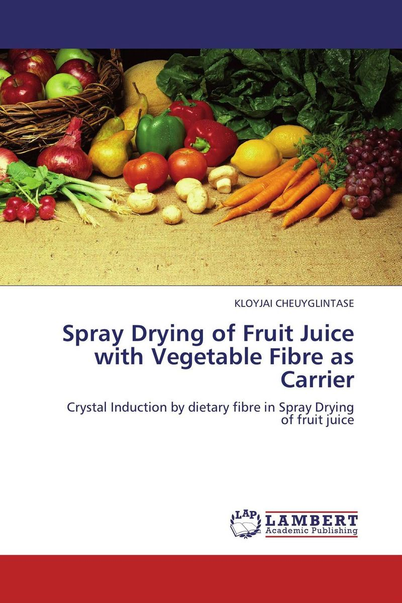 Spray Drying of Fruit Juice with Vegetable Fibre as Carrier dole tropical fruit in juice 113g pack of 2
