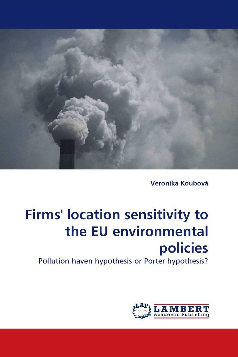 Firms'' location sensitivity to the EU environmental policies полет snow goose мужская новый зимний отдых пару тонких короткий параграф пуховик x1701027 розмари lan 5021 175