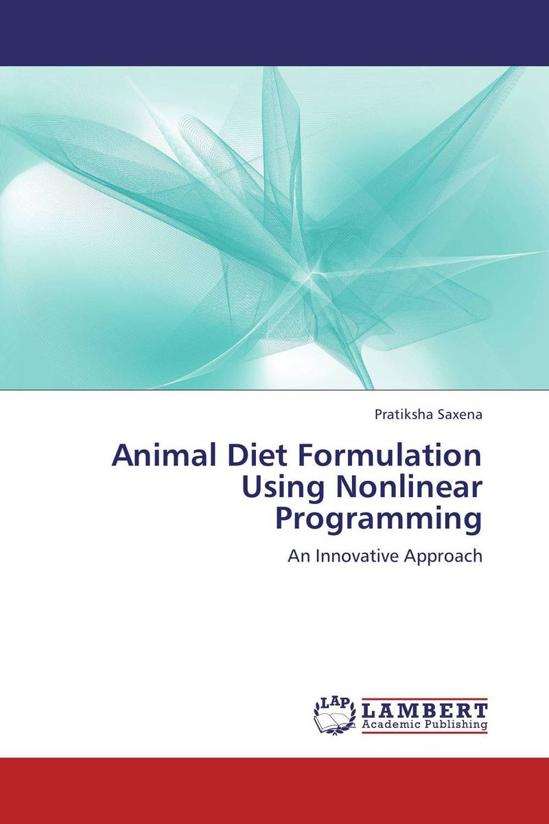 Animal Diet Formulation Using Nonlinear Programming animal traction in the fadama