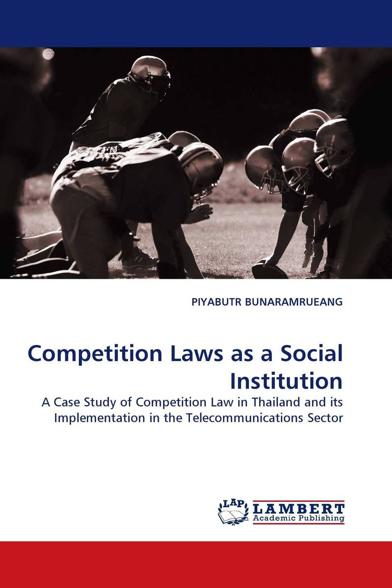 Competition Laws as a Social Institution ingo vogelsang telecommunications competition – the last ten miles