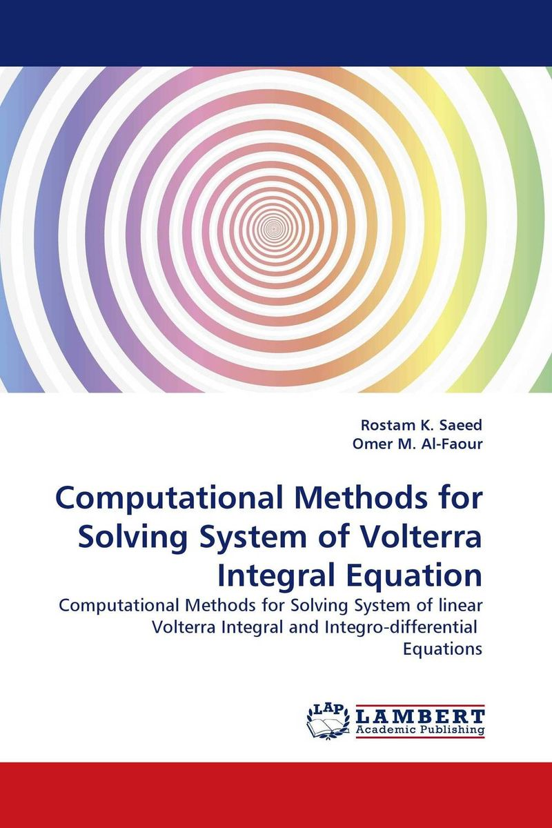 Computational Methods for Solving System of Volterra Integral Equation development of a computational interface for small hydropower plant