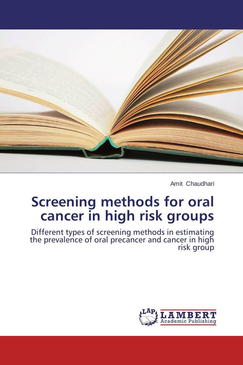Screening methods for oral cancer in high risk groups cryosurgery in oral and maxillofacial surgery