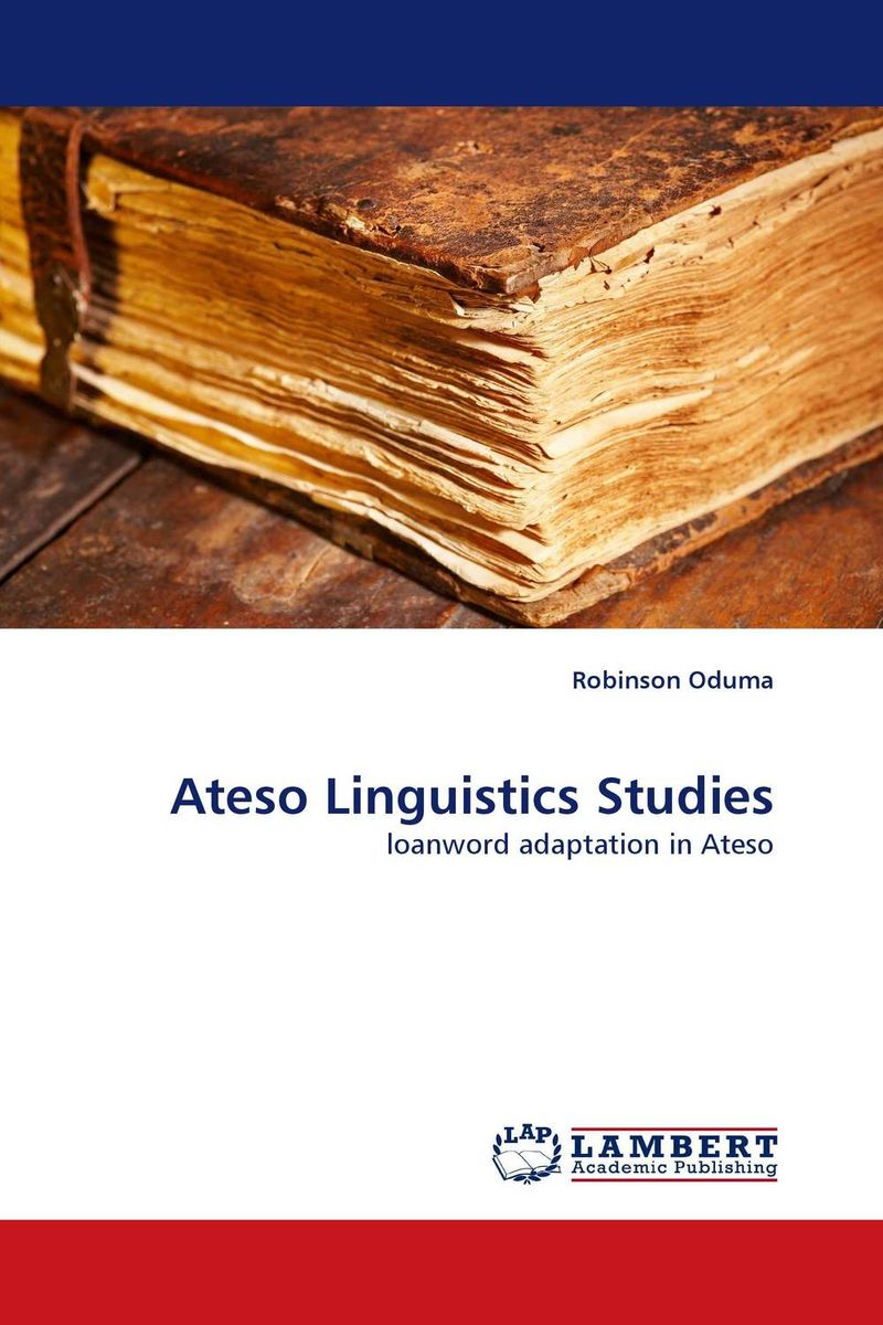 Ateso Linguistics Studies sociobiogenetic linguistics