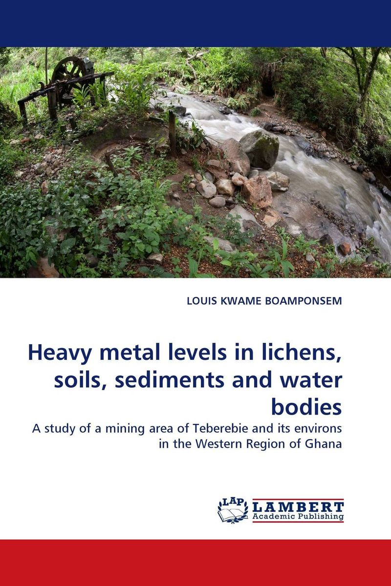 Heavy metal levels in lichens, soils, sediments and water bodies rakesh kumar assessment of heavy metals co ni