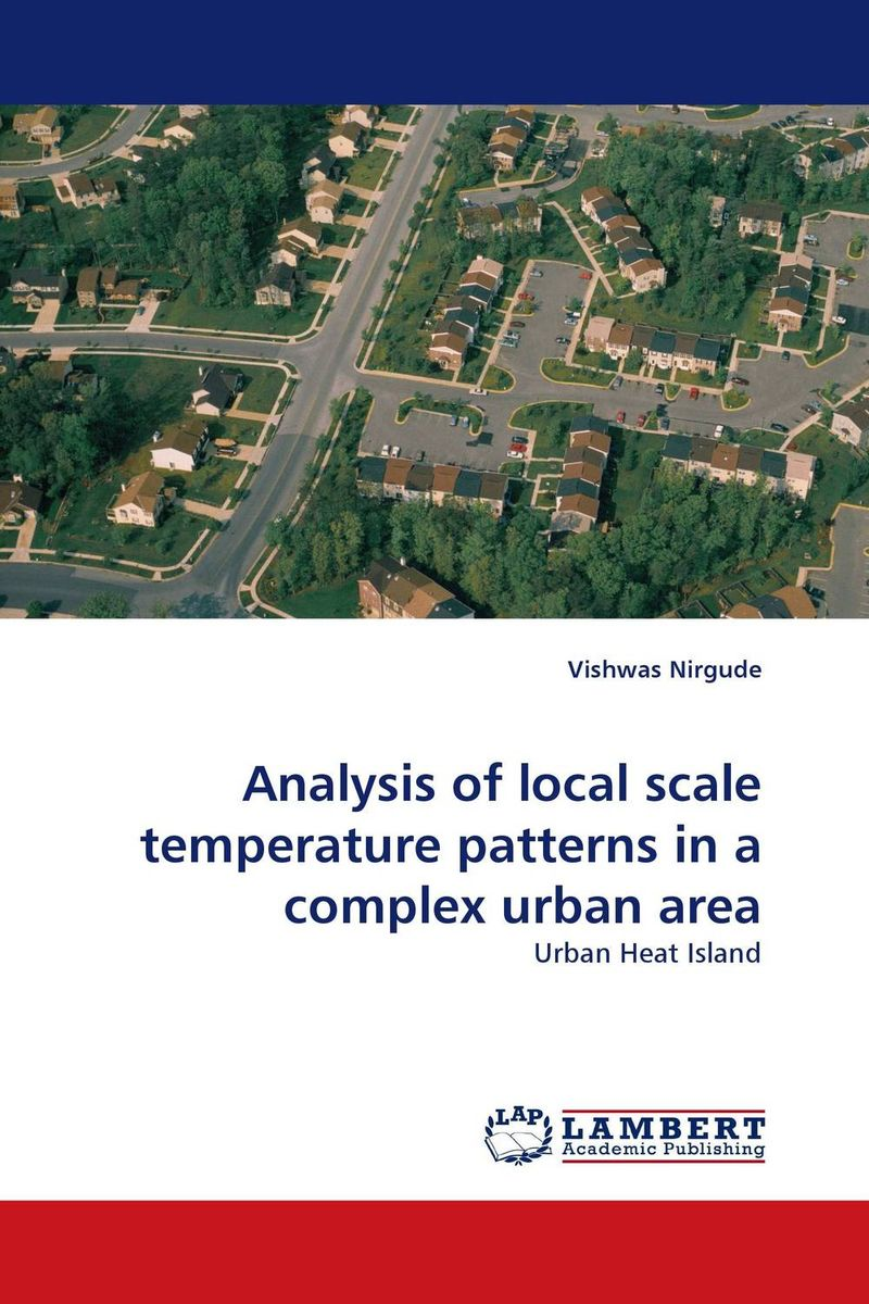 Analysis of local scale temperature patterns in a complex urban area