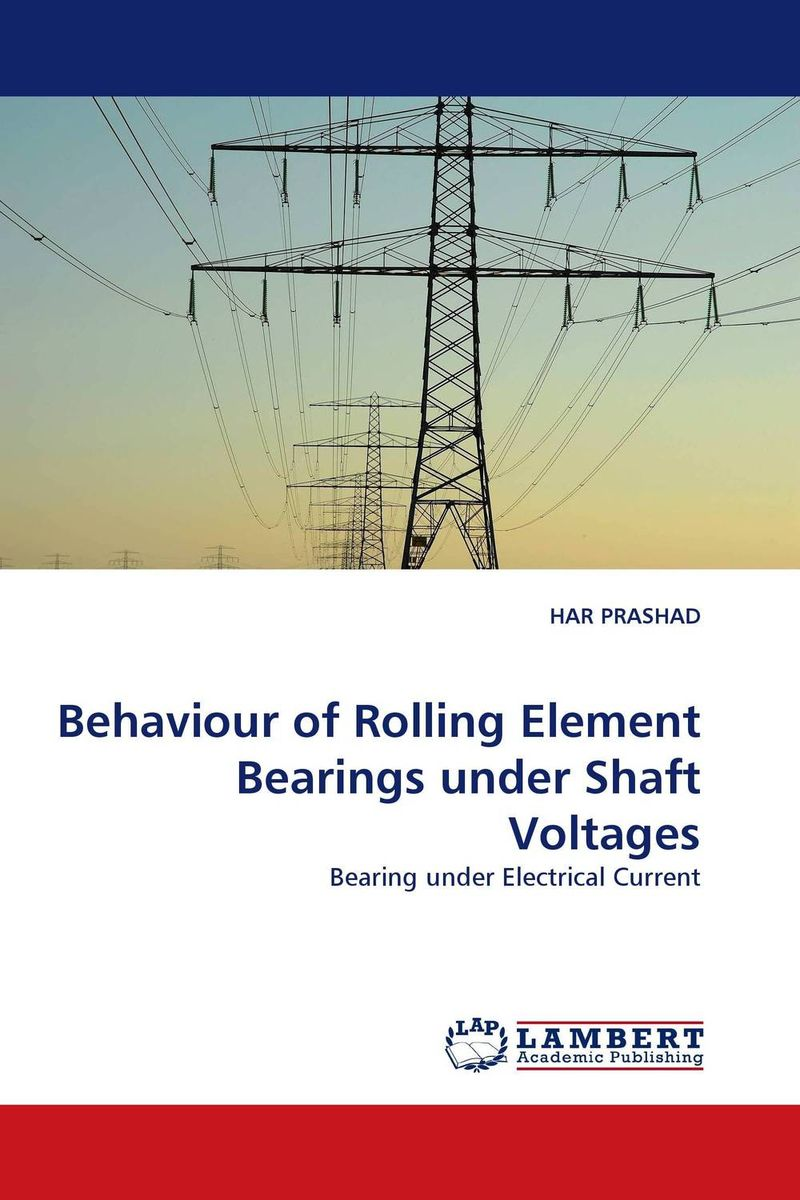 Behaviour of Rolling Element Bearings under Shaft Voltages analysis of hydrodynamic bearings by electrical analogy