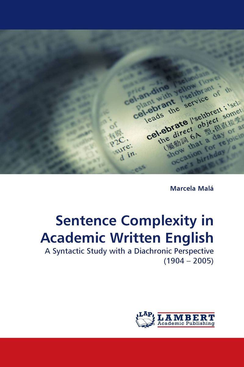 Sentence Complexity in Academic Written English hewings martin thaine craig cambridge academic english advanced students book