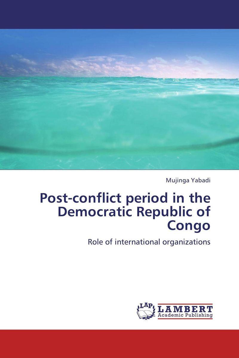 Post-conflict period in the Democratic Republic of Congo psychiatric disorders in postpartum period