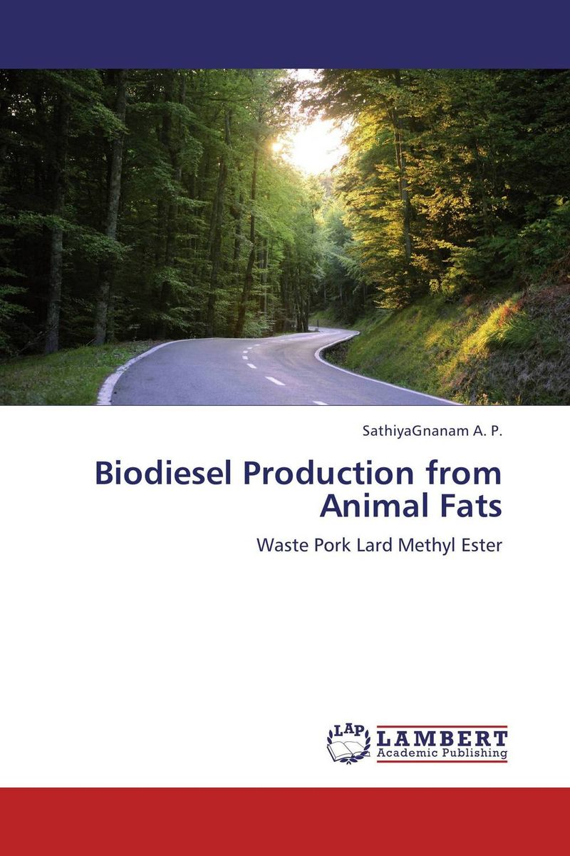 Biodiesel Production from Animal Fats biodiesel from algae
