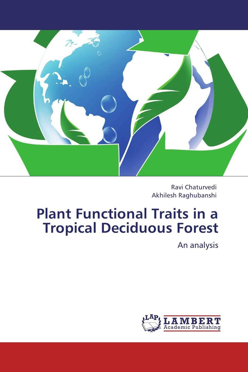 Plant Functional Traits in a Tropical Deciduous Forest traits палантин