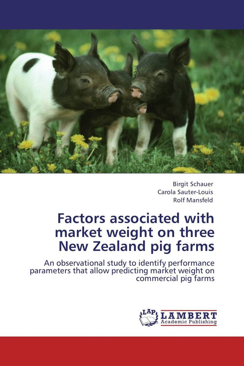 Factors associated with market weight on three New Zealand pig farms factors associated with bone health in young adults