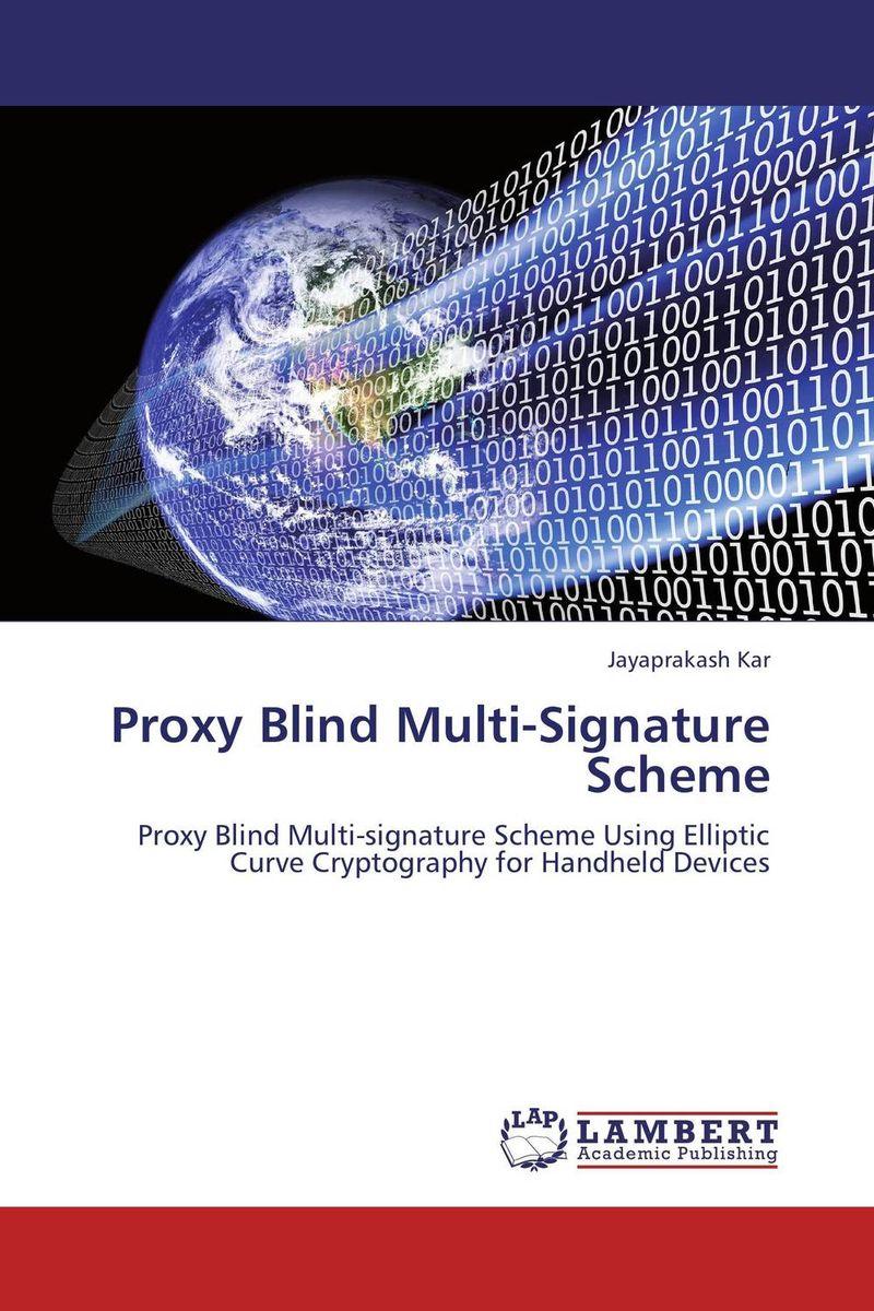 Proxy Blind Multi-Signature Scheme ghada abdelhady new des based on elliptic curve