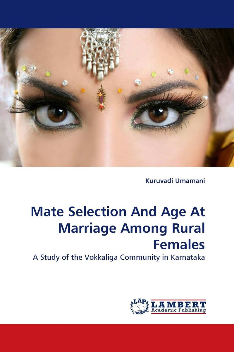 Mate Selection And Age At Marriage Among Rural Females marriage of the greens