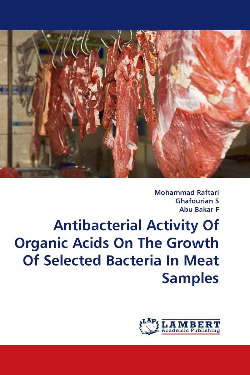 Antibacterial Activity Of Organic Acids On The Growth Of Selected Bacteria In Meat Samples activity recovery growth paper