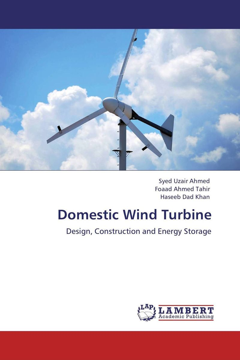 Domestic Wind Turbine fabrication of a wind turbine with different pitch angle of the blade